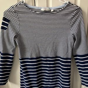 Blue and white stripped Vineyard Vines dress